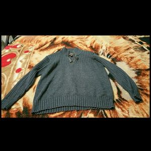 Mens Great Northwest Clothing Company gray sweater